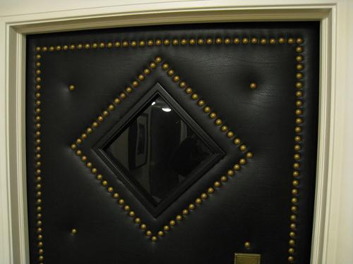 drzwi wejsćiowe obite tapicerką